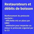 Protocole sanitaire pour les professionnels de la restauration