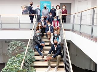 DINAMIC+ : 16 entreprises embarquent dans l'accélérateur à Laval